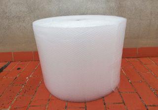 Gran rollo plastico para embalar