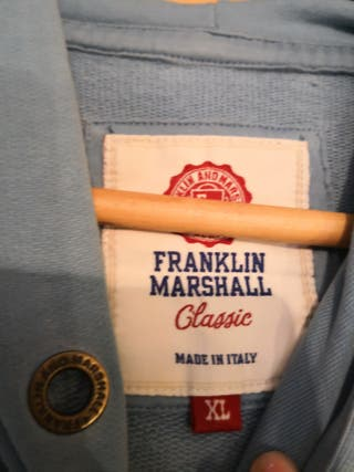Sudadera azul FRANKLIN & MARSHALL ORIGINAL