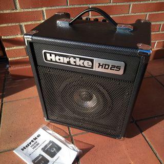 Amplificador de bajo eléctrico Hartke HD25