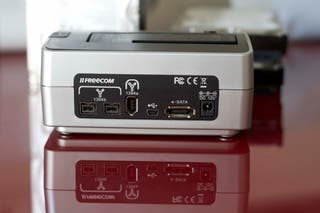 Dock station firewire 800/400 para disco duro sata