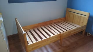 cama de niño extensible