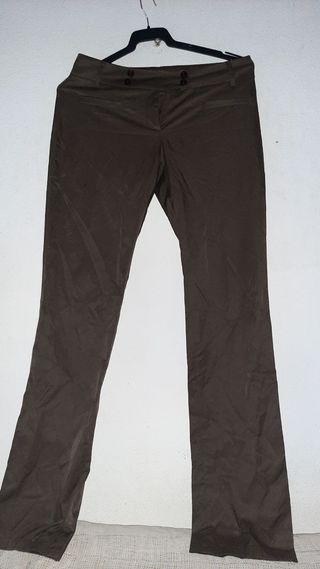 Pantalones guess 40-42 con licra de vestir y recto
