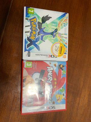 Juegos Nintendo 3DS y 2DS