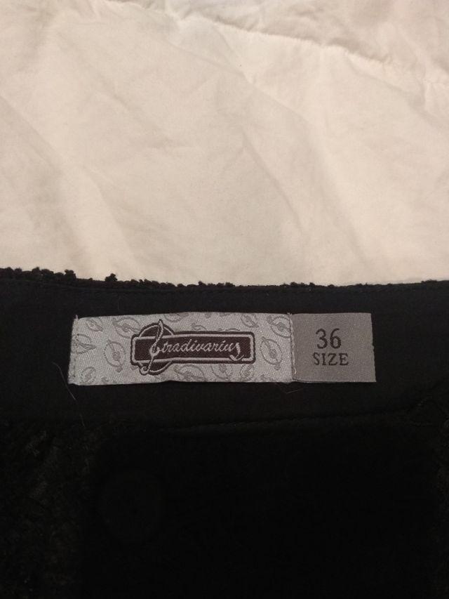 Pantalones cortos negros Stradivarius
