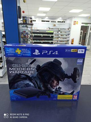 Pack Ps4 Slim 1 Tb + Call of Duty Modern Warfare