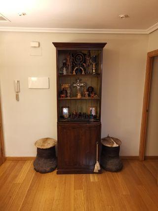 Mueble aparador clásico caoba