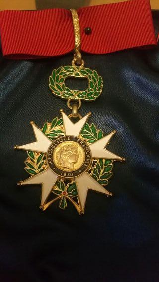 medalla republica francesa nueva