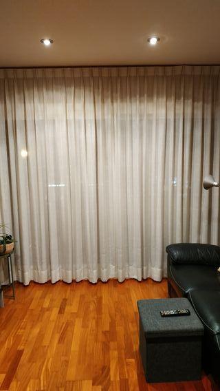 Cortina salón de algodón