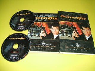 DVD 007 GOLDENEYE (ULTIMATE EDIC.2 DISCOS)