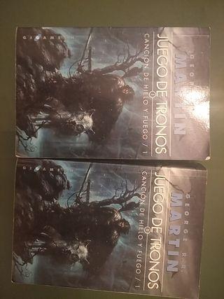 libro juego de tronos