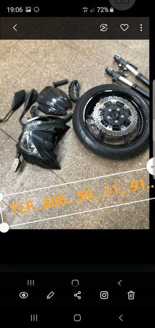DESPIECE COMPLETO KAWASAKI Z--800 E 2017--18--19--