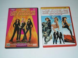 LOS ANGELES DE CHARLIE 1 Y 2 EN DVD