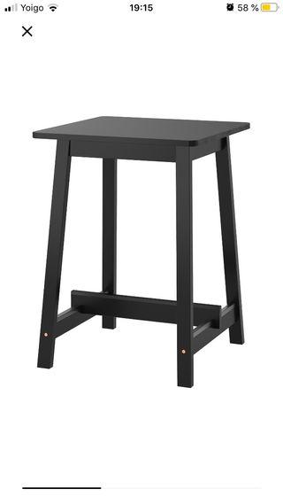 Mesa alta ikea con sillas