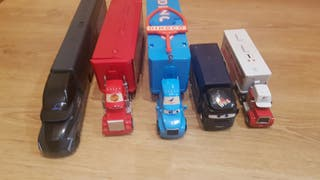 cars - camiones cars- rayo mcqueen-dinoco-storm...