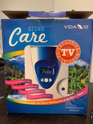 Generador Ozono Care Vida 10 Aire + Agua