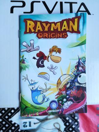 RAYMAN ORIGINS PSVITA.