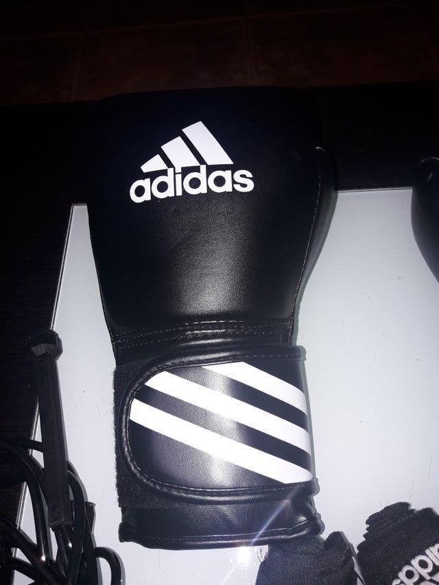 set boxeo sin estrenar.adidas.