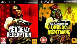 RED DEAD REDEMPTION + UNDEAD NIGHTMARE. JUEGO PS3