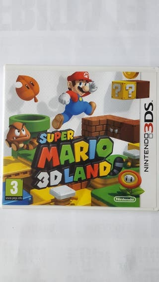 Juego 2ds/3ds Mario 3D land