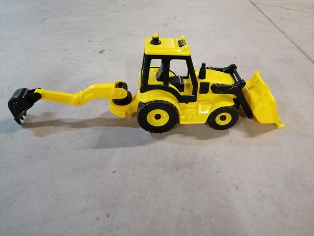 excavadora de juguete