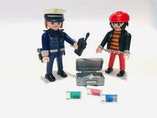 Duo Pack Policía y ladrón Playmobil Ref 4269