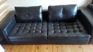 vendo sofá de piel sin estrenar