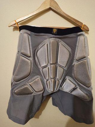 Pantalones cortos de protección snowboard