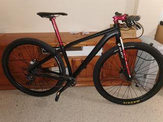 bicicleta de 29 pulgadas