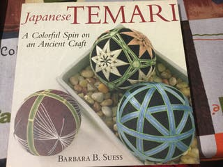 Japanese Temari. A colorful spin on ancient craft