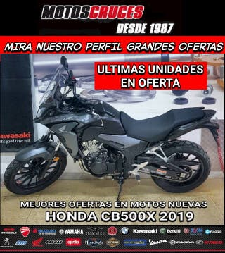 HONDA CB500X 2019 ÚLTIMAS UNIDADES EN OFERTA