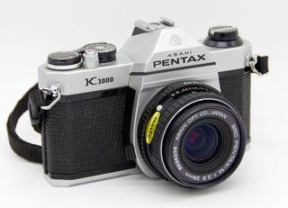 Un regalo original: La mítica Pentax K1000