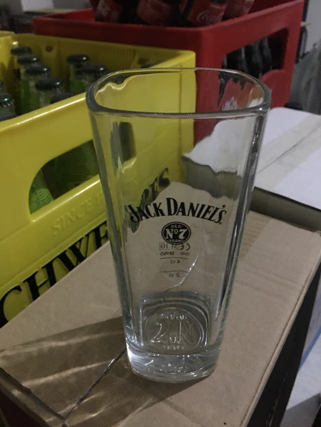 Vasos whisky Jack Daniel