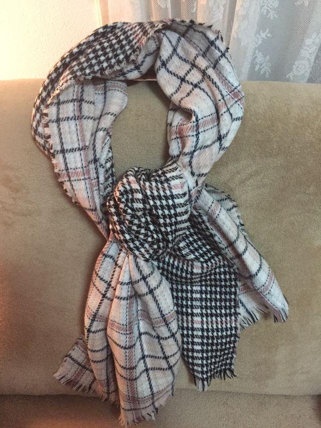 Bufanda doble estampado