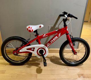 """Bicicleta Infantil DTB 16"""""""