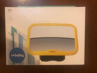 espejo vigilar para bebés. Baby safe mirror