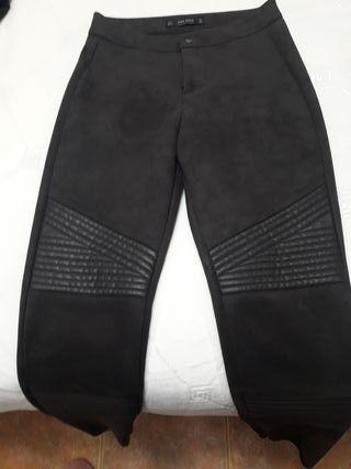 pantalon ante y piel.talla 36