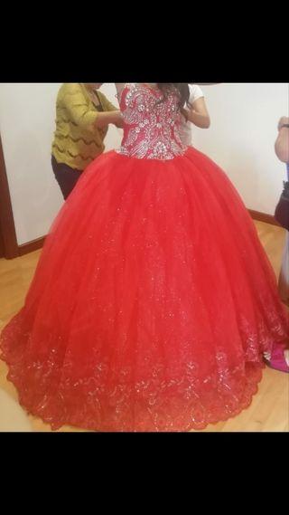 precioso vestido para novia gitana