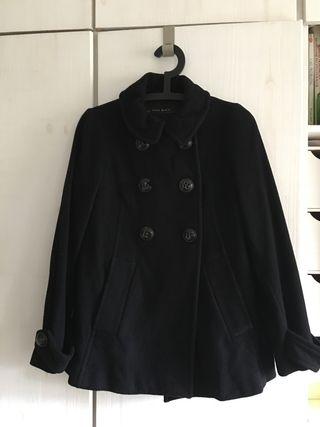 Abrigo de lana de Zara