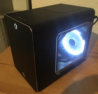 Mini PC diseño ITX, Wifi, GTX 1050 ti