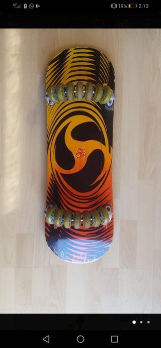 skate 7 ruedas flow board
