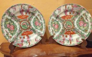 Juego de platos de porcelana china