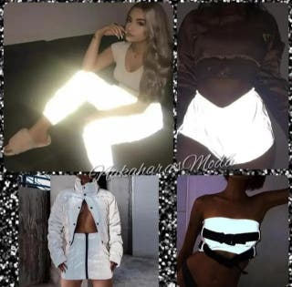 Ropa reflectante - moda tumblr