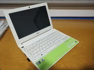 Notebook acer aspire one + funda maletin