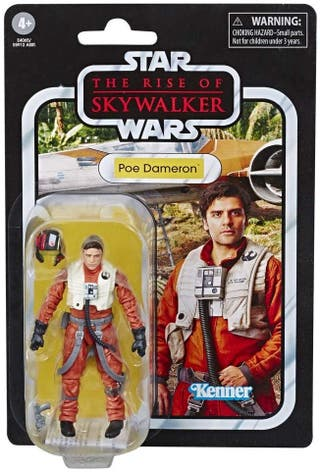 Star Wars Figura de Acción Poe Dameron nueva