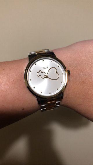 Reloj tous bicolor