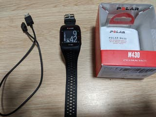 Reloj deportivo Polar M430, con pulsómetro y GPS.