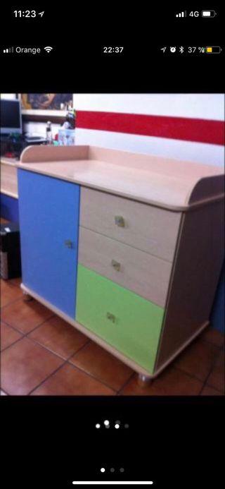 Mueble de bebe