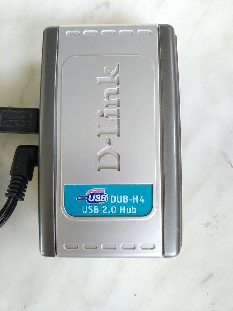 Hub USB 4 puertos con alimentación