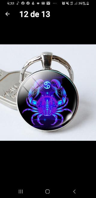 Llavero signo Zodiaco, Cancer
