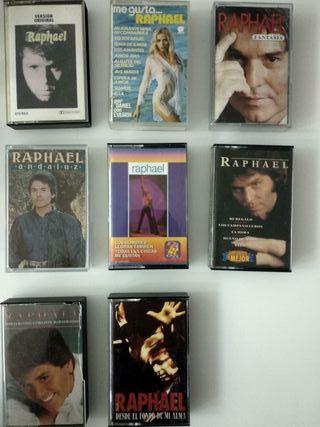 12 RAPHAEL Cintas Cassettes DISCOGRAFIA